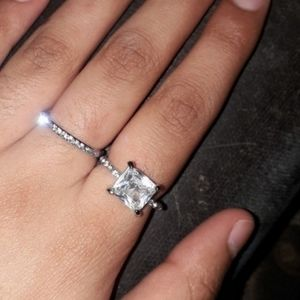 Replacement engagement rings